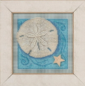 Mill Hill Spring Series Sand Dollar beaded counted cross stitch kit