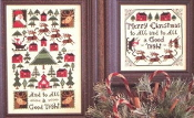 The Prairie Schooler And to all a Good Night Christmas counted cross stitch charts patterns