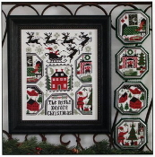 The Prairie Schooler The Night Before Christmas counted cross stitch charts patterns
