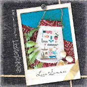 Lizzie Kate Love Summer counted cross stitch kit