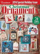 Just Cross Stitch 2016 Special Christmas Issue Ornaments magazine