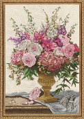 Design Works Crafts Symphony Bouquet counted cross stitch picture kit