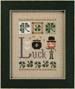 Lizzie Kate Luck Celebrate with charm Series Counted cross stitch pattern chart