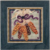 Mill Hill Autumn Series Harvest Corn beaded counted cross stitch kit