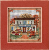 Mill Hill Autumn Series Country Store beaded counted cross stitch kit