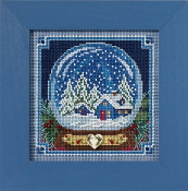 Mill Hill Snow Globe Beaded Counted Cross Stitch kit