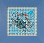 Mill Hill Spring Series Crab beaded counted cross stitch kit
