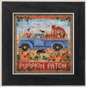 Mill Hill Autumn Series Old Time Harvest beaded counted cross stitch kit