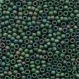 Mill Hill Antique Glass Seed Beads 03029 Autumn Green, needlework