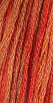 The Gentle Art Sampler Threads Burnt Orange 5 yard skein embroidery, counted cross stitch
