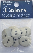 Colors Favorite Findings Grey Buttons