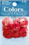 Colors Favorite Findings Red Buttons