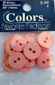 Colors Favorite Findings Pink Buttons