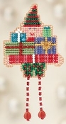 Mill Hill Oli Elf Christmas Ornament counted cross stitch kit