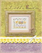 Lizzie Kate - a little Easter counted cross stitch kit