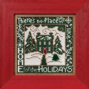 Mill Hill Winter Series - Home for the Holidays - Christmas beaded counted cross stitch kit
