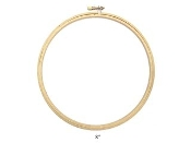 Darice 8 inch round wood embroidery hoop