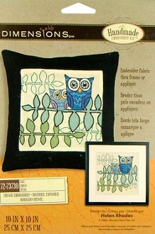 Dimensions Crewel embroidery kit Owl