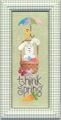 Lizzie Kate Think Spring 116 counted cross stitch pattern chart