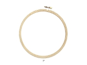 Darice 7 inch round wood embroidery hoop