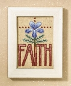 Debbie Mumm - Mill Hill Words for Life, Faith, Cross Stitch Kit
