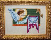 Mirabilia Designs - 2009 Holiday Cherub Free counted cross stitch chart