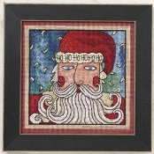 Mill Hill Sticks - Ho Ho Santa Christmas beaded counted cross stitch kit