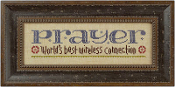 Lizzie Kate Snippet, Prayer Connection - counted cross stitch pattern