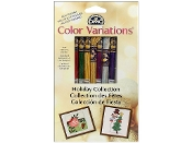 DMC Color Variations Holiday Collection Embroidery Floss Pack