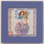 Mill Hill Jim Shore Yarn Fairy counted cross stitch kit