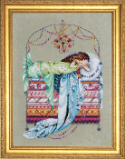 Mirabilia Designs - Sleeping Princess, counted cross stitch pattern chart