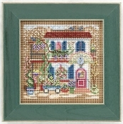 Mill Hill Spring Series, Flower Shoppe - Beaded counted cross stitch kit