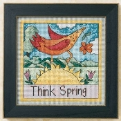 Mill Hill Sticks beaded counted cross stitch kit - Think Spring