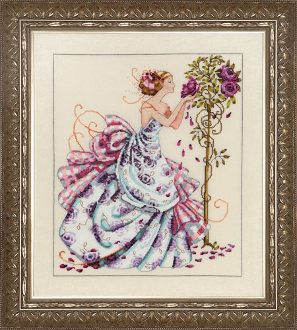 Mirabilia Designs - Roses of Provence, Cross Stitch Pattern