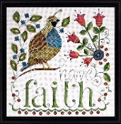 Design Works Crafts Have Faith counted cross stitch kit