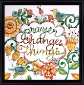 Design Works Crafts Prayer counted cross stitch kit