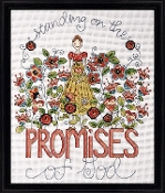 Design Works Crafts Promises counted cross stitch kit