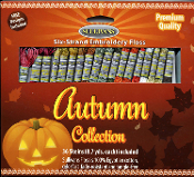 Sullivans embroidery floss pack - Autumn Collection 36 skeins