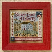 Mill Hill Buttons Beads Autumn Series - Sweet Liberty beaded counted cross stitch kit