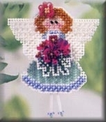 Mill Hill Spring Bouquet Angeline Ornament Counted Cross Stitch kit