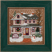 Mill Hill winter Series Village Inn counted cross stitch kit