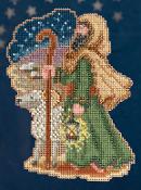Mill Hill Nativity Trilogy Luke Christmas Ornament counted cross stitch kit