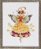 Mirabilia Designs Buttercup NC195 design by Nora Corbett counted cross stitch pattern