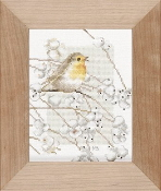 Lanarte Robin, Marjolein Bastin counted cross stitch kit
