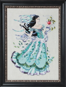 Mirabilia Designs Biancabella MD-130 beaded counted cross stitch pattern chart