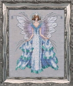 Mirabilia Designs Faerie Winter Dream NC204 design by Nora Corbett counted cross stitch pattern