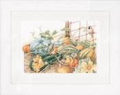 Lanarte Marjolein Bastin collection - Pumpkins counted cross stitch picture kit
