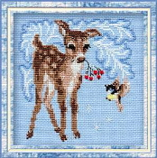 Riolis - Fawn - counted cross stitch picture kit