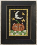 Mill Hill Beaded counted cross stitch kit - Jack O' Cat Halloween