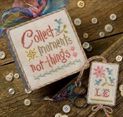 Lizzie Kate Snippet, Collect Moments - Counted cross stitch pattern